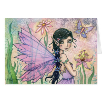 Sweet Valentine's Day Fairy Greeting Card