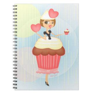 Sweet Valentine's Day Spiral Notebooks