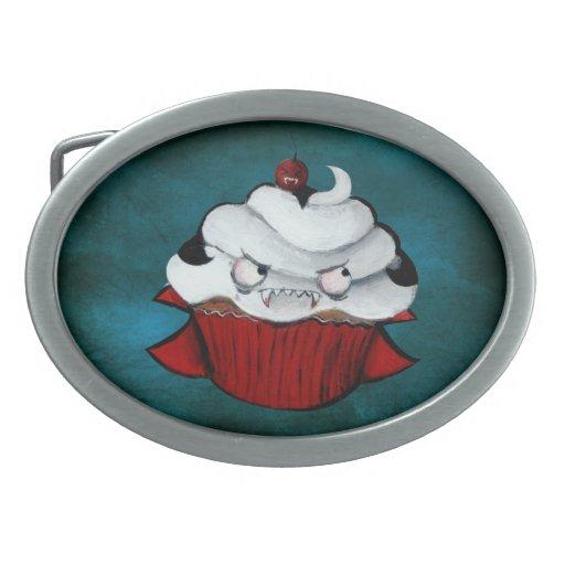 Sweet Vampire Cupcake Belt Buckle