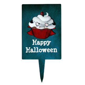 Sweet Vampire Cupcake Rectangular Cake Topper