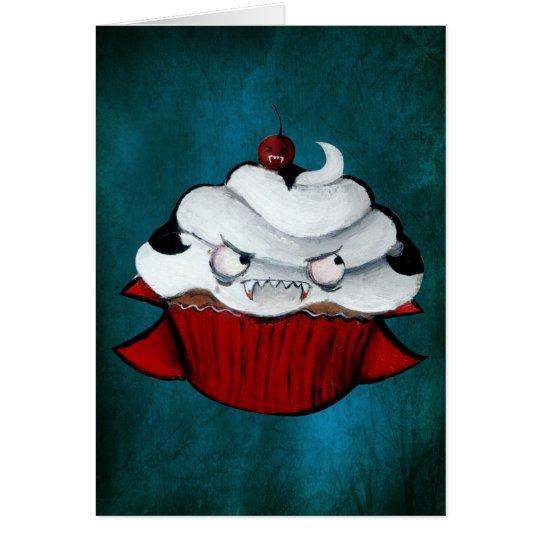 Sweet Vampire Cupcake Card