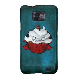 Sweet Vampire Cupcake Galaxy S2 Cover