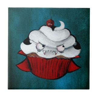 Sweet Vampire Cupcake Ceramic Tiles