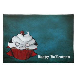 Sweet Vampire Cupcake Cloth Placemat