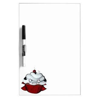 Sweet Vampire Cupcake Dry-Erase Whiteboards