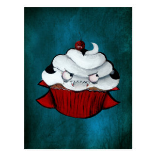 Sweet Vampire Cupcake Postcard