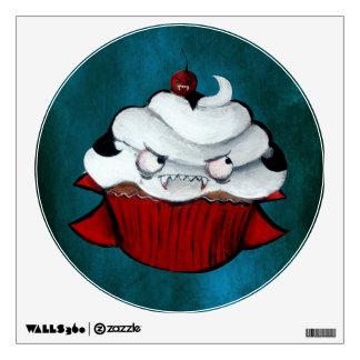 Sweet Vampire Cupcake Wall Sticker