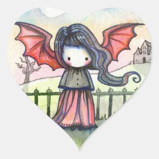 Sweet Vampire Whimsical Stickers