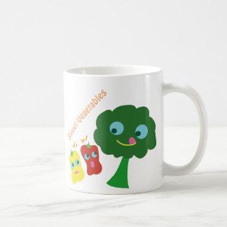 Sweet Vegetables Classic White Coffee Mug