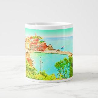 Sweet Vernazza ~ Jumbo 20 oz. Mug