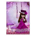 Sweet Victorian Fairy Card