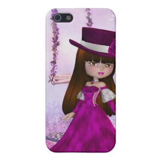 Sweet Victorian Fairy iPhone 4 Case