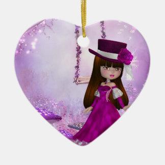 Sweet Victorian Fairy Ornament