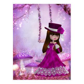 Sweet Victorian Fairy Postcard