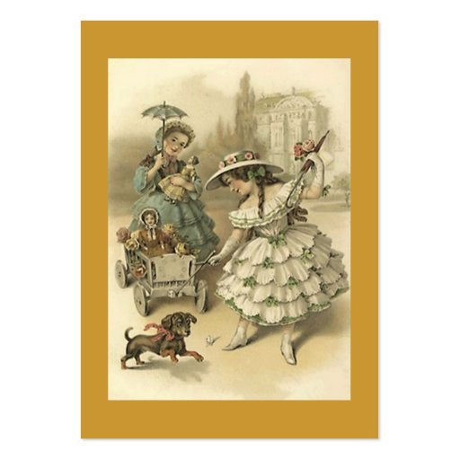 Sweet Victorian Style Gift Tag Tags The Journeyers Business Cards