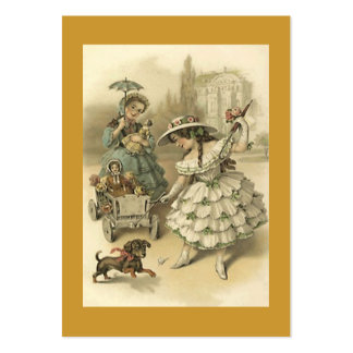 Sweet Victorian Style Gift Tag Tags The Journeyers Large Business Card