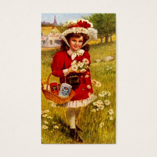 Sweet Victorian Style Gift Tags Baker Daisy Field