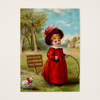 Sweet Victorian Style Gift Tags ~ Miss Dog-Walker
