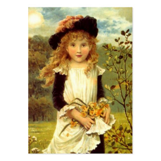 Sweet Victorian Style Gift Tags The Daffodil Girl Large Business Card