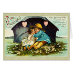 Sweet Victorian Valentine's Day Card