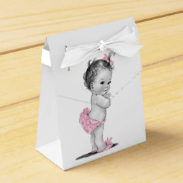 Sweet Vintage Baby Shower Favor Boxes