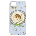 Sweet vintage cat portrait iPhone 5 cover