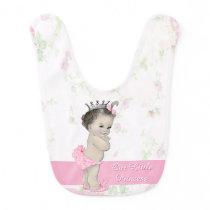 Sweet Vintage Pink Princess Bib