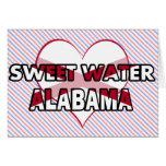 Sweet Water, Alabama Greeting Cards