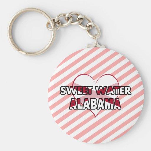 Sweet Water, Alabama Keychains
