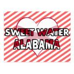 Sweet Water, Alabama Postcard