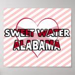 Sweet Water, Alabama Print
