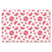 Sweet Watercolor Watermelon Pattern Tissue Paper