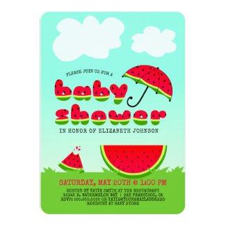 Sweet Watermelon Baby Shower