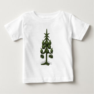 Sweet Watermelons Christmas Tree Baby T-Shirt