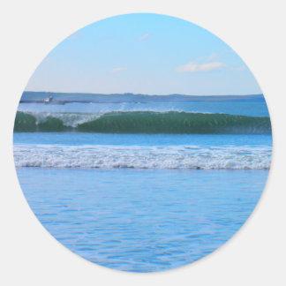 Sweet Wave Classic Round Sticker