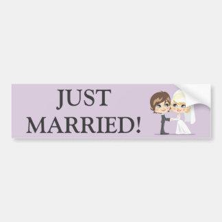 Sweet Wedding Day Bumper Sticker