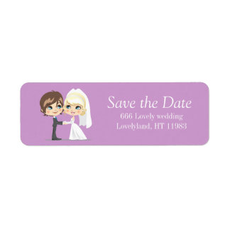 Sweet Wedding Day Label