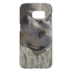 Case-Mate Barely There Samsung Galaxy S7 Case with Weimaraner Phone Cases design