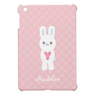 Sweet White Bunny iPad Mini Case