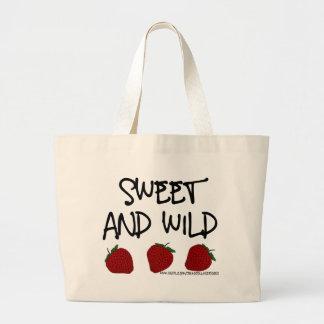 Sweet & Wild Large Tote Bag