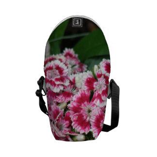 Sweet William Flowers Messenger Bag