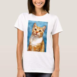 Sweet William - Orange Tabby Cat Art T-Shirt