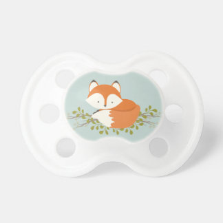 Sweet Woodland Fox Baby Pacifier