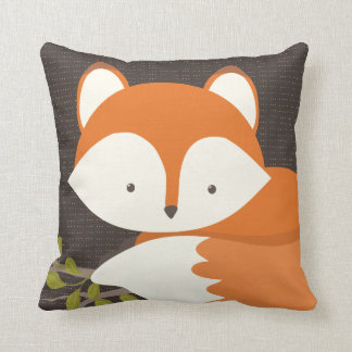 Sweet Woodland Fox Baby Snuggly Pillow