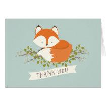 Sweet Woodland Fox Thank You