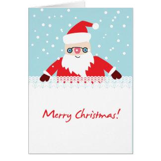 Sweet  Xmas greeting card