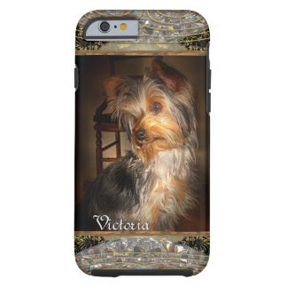 Sweet Yorkie or Insert Your Own Photo Tough iPhone 6 Case