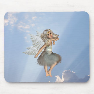 Sweet Young Angel Mouse Pad