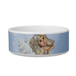 Sweet Young Angel Pet Bowl