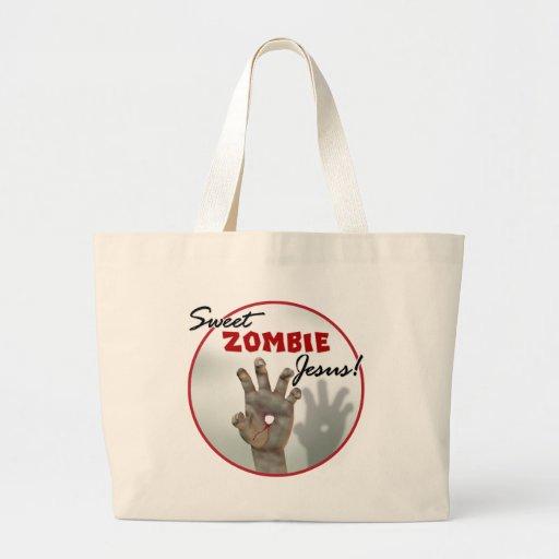 Sweet Zombie Jesus Bags